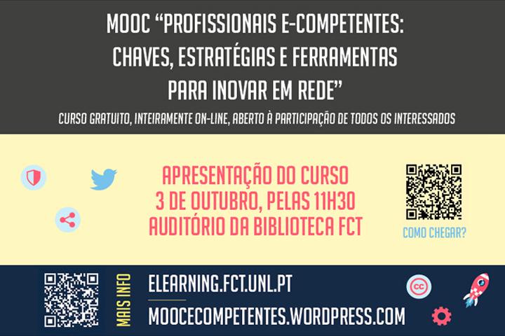 MOOC – Profissionais e-competentes