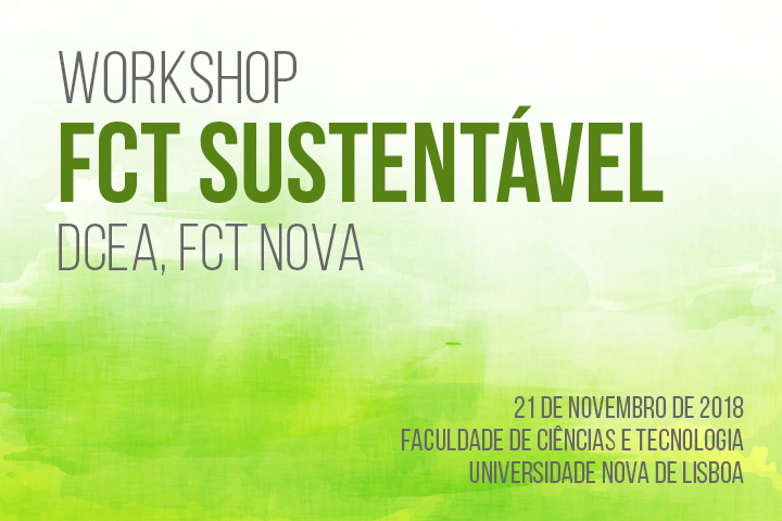 Workshop FCT Sustentável