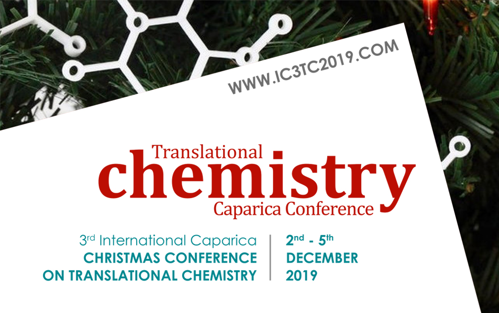 IC3TC 2019 – 3rd International Caparica Christmas Conference on Translational Chemistry 2019