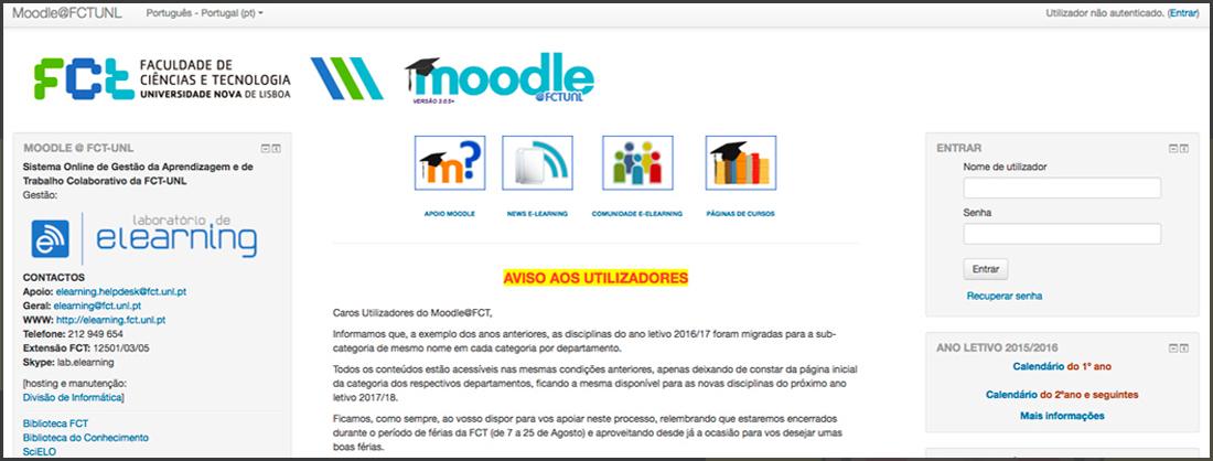 Moodle@FCTUNL