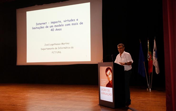 Lição de Jubilação do Professor José Legatheaux Martins